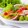 Stock Photo: Thai sausage salad spicy-sour dressing