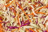 Sliced vegetable background — Stock Photo