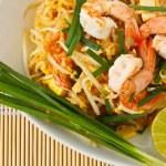 Thai stir-fried rice noodles (Pad Thai) — Stock Photo #9771331