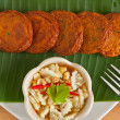 Thai spicy fried fish cake — Stockfoto