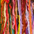 Colorful skein thread — Stock Photo #9784821