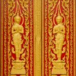 Royalty-Free Stock Photo: Door of Thai church.