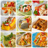Thai Food, Green curry — Stock Photo