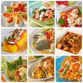 Curry di cibo tailandese, verde — Foto Stock
