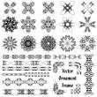 Set of ornaments — Stock Vector
