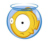 Little fish. — Stock Vector