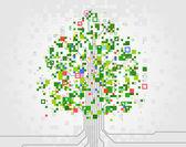 Tree of technological progress. — Stock Vector