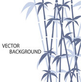 Bamboo background — Stockvektor