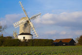 Windmill at Framlingham — Stock Photo