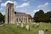 Old church England — Stockfoto