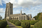 Lavenham st Peter and st Paul church — Stock Photo