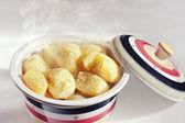 отварной картофель — Стоковое фото