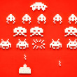 Stock Photo: Sugar Space Invaders