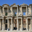 Celsus library in Ephesus — 图库照片