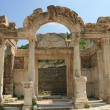 Hadrian Temple from Ephesus in Turkey — Stock Photo