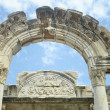 Stock Photo: Hadrian Temple from Ephesus in Turkey