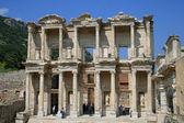 Celsus library in Ephesus — Стоковое фото