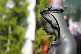 Virgin Mary statue from Ephesus — Stock Photo