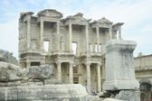 Celsus library in Ephesus — Stock Photo