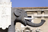 Elephant statue — Stock Photo