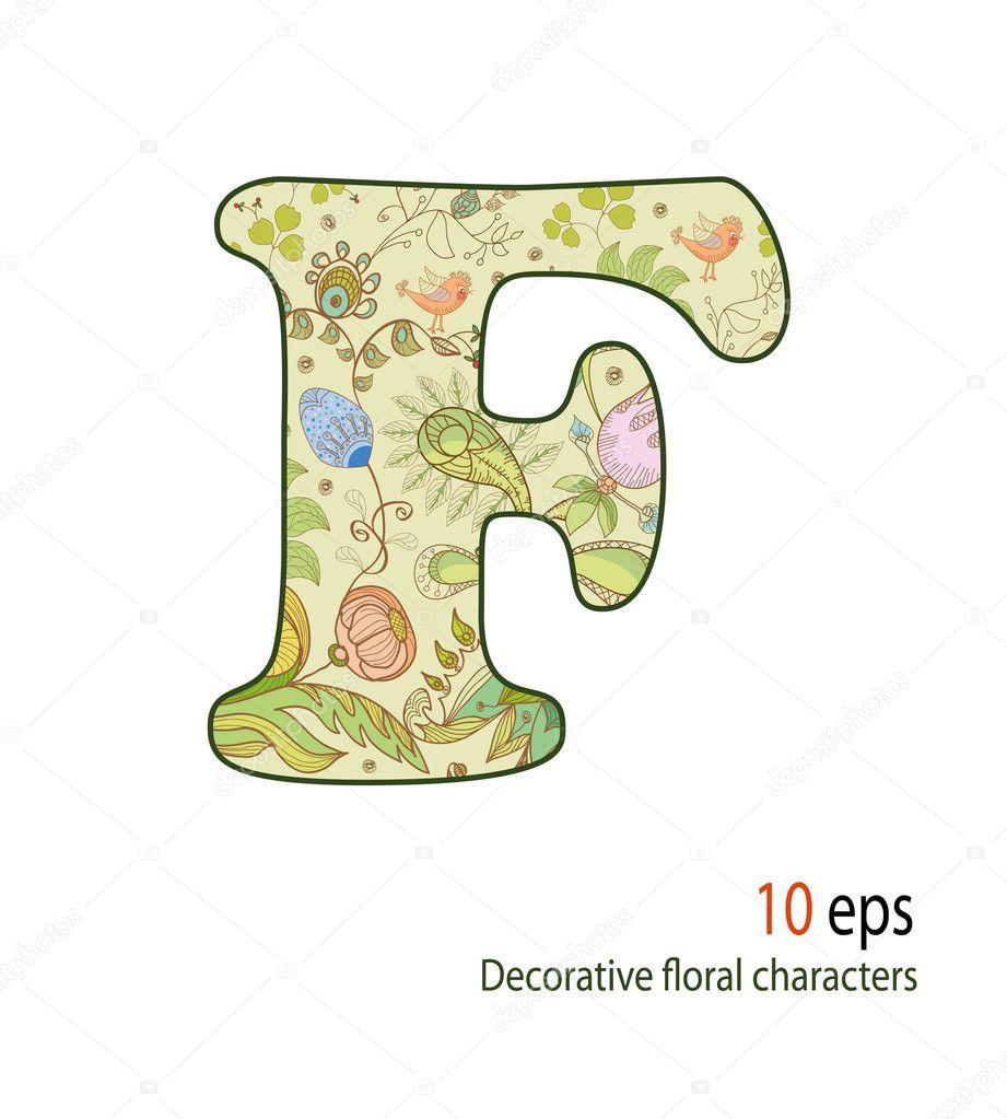 Letters decorative alphabet pinterest home design idea for Plantas decorativas