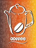 Coffee pot — Stock Vector