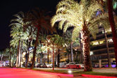 Cannes by night. — Stock Photo