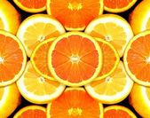 Citrus Fruit Abstract — Stock Photo