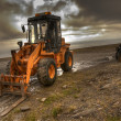 Forklift truck - Stock Photo