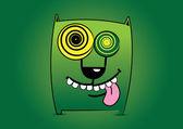 Cute cartoon character. Vector illustration. — Stock Vector