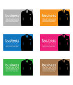 Business card — Vector de stock