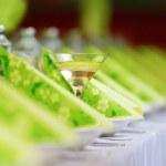 tabla de cena de la boda — Foto de Stock
