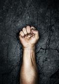 протест кулак — Стоковое фото