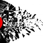 Vinyl shatter — Stock Photo #9661815