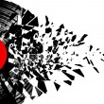 Постер, плакат: Vinyl shatter