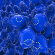 EU balloons — Stock Photo
