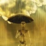 zure regen — Stockfoto