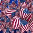 USA balloons — Stock Photo #9714160