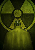 Nuclear hazard — Stock Photo