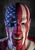 Big fan USA — Stock Photo