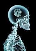 Correo electrónico de rayos x — Foto de Stock
