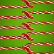 Stock Photo: Candy cane stitch
