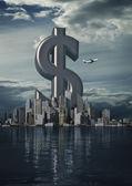 Business staden dollar — Stockfoto