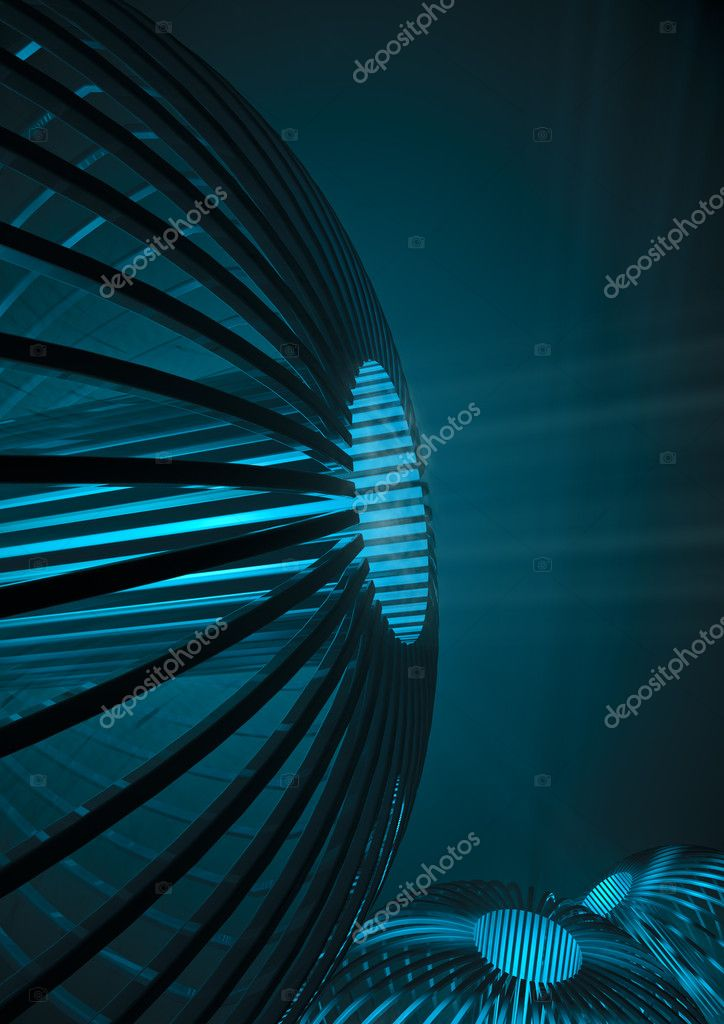 3D render of science fiction technology — Stock Photo #9754470