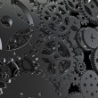 Cogs machinery background — Stock Photo