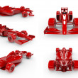 Foto Stock: Formul1 concept SET 2, easy to colorize