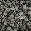 Skulls background — Stock Photo #9773325