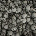 tła czaszki — Zdjęcie stockowe