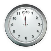 Almost 2013 o'clock — Stock Photo
