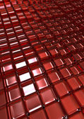 Glass cubes background — Stock Photo